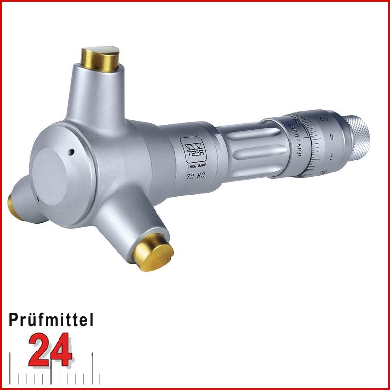 Messschraube Mikrometer Bügelmessschraube 175-200mm Ablesung 0,01mm Analog