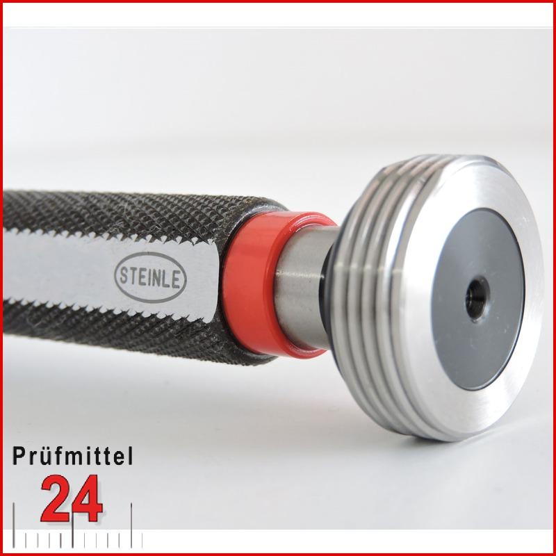 Gewindelehrdorn Grenzlehrdorn  M 38 x 1,5 mm 6H Feingewinde DIN 13