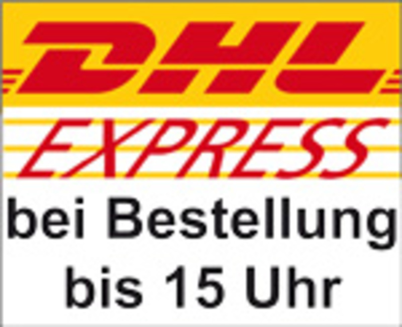 expressversand per dhl express v15 bei bestellungen bis. Black Bedroom Furniture Sets. Home Design Ideas