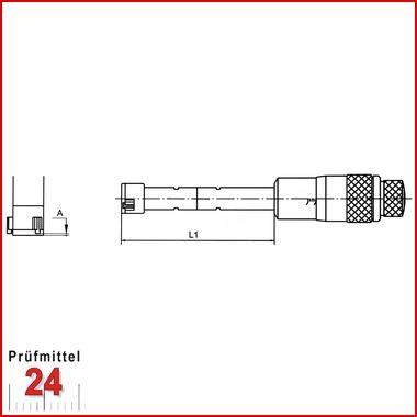 Dreipunkt Innenmessschraube 12-16 mm 3 Punkt Messschraube NEU OVP