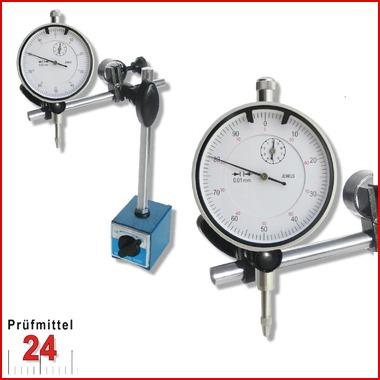 Magnet Messstativ Standard inkl. Messuhr ECO im SETMessbereich 10 / 0,01 mmAktionspreis gültig bis 31.01.2015